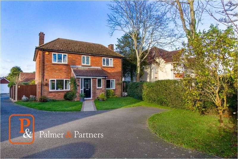 4 Bedrooms Detached House for sale in Shrub End Road, Colchester, CO3