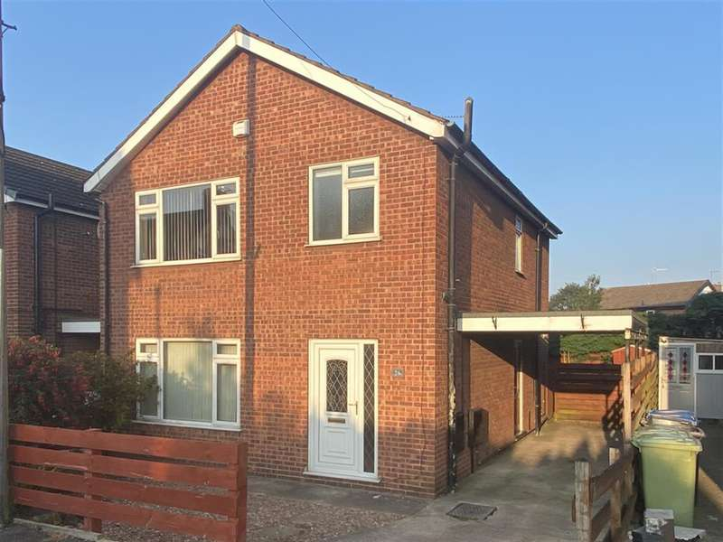 3 Bedrooms Detached House for rent in Fairfield Road, Ashgate, Chesterfield, S40 4TP