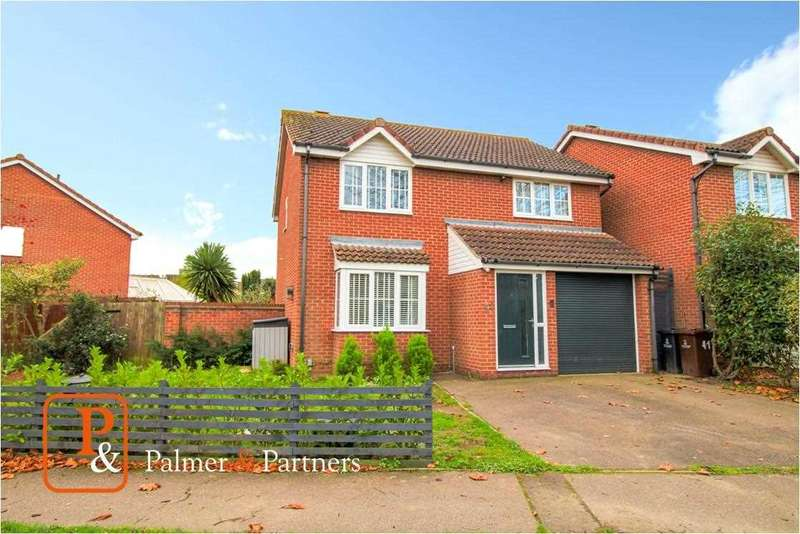 4 Bedrooms Detached House for sale in Mountbatten Drive, Colchester, CO2