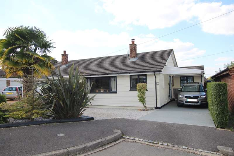 3 Bedrooms Semi Detached Bungalow for sale in Chapel Close, Wrestlingworth, SG19