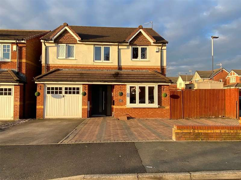 4 Bedrooms Detached House for sale in Hinchley Road, Blackley, Manchester, M9