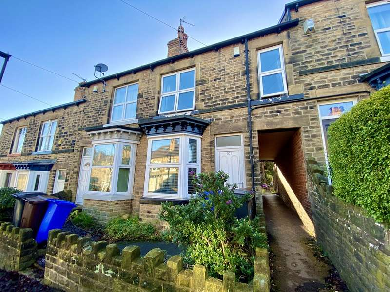 3 Bedrooms Terraced House for rent in Forres Road, Crookes, Sheffield