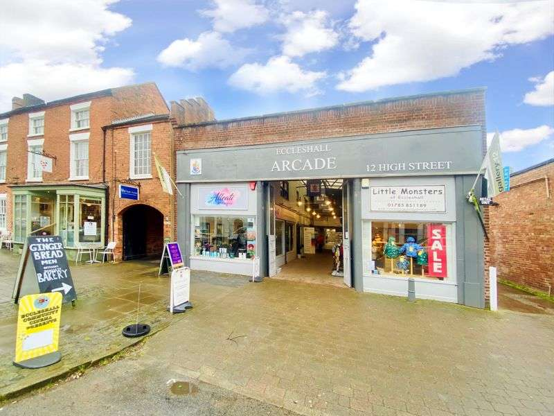 Property for rent in Unit 5, The Arcade, 12 High Street, Eccleshall, Staffordshire