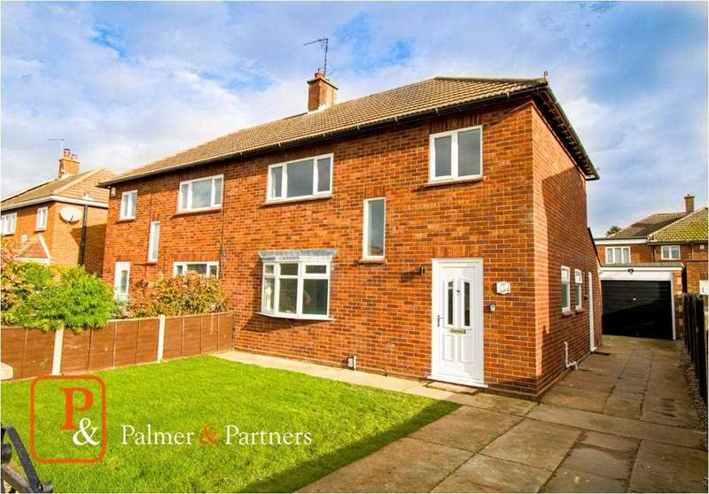 3 Bedrooms Semi Detached House for sale in Hills Crescent, Prettygate, Colchester, CO3