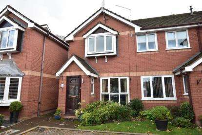 2 Bedrooms Terraced House for sale in Mellings Wood, Lytham St Anne's, Lancashire, England, FY8