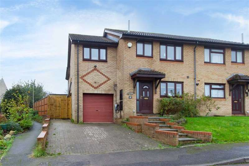 4 Bedrooms Semi Detached House for sale in Shutehay Drive, Cam, GL11