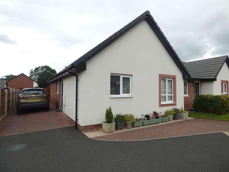 2 Bedrooms Semi Detached House for sale in Oak Avenue, Longtown, Carlisle, CA6 5WF