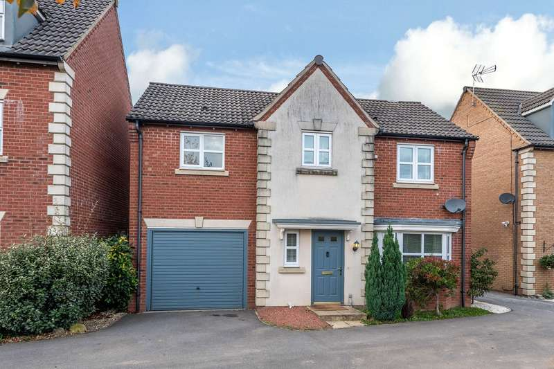 4 Bedrooms Detached House for sale in Lyveden Way, Corby, NN18