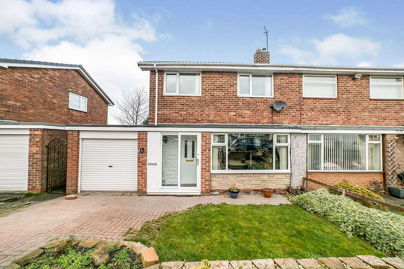 3 Bedrooms Semi Detached House for sale in Silverdale Drive, Blaydon-on-Tyne, Tyne and Wear, NE21