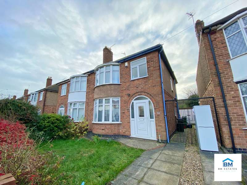 3 Bedrooms Semi Detached House for rent in Roehampton Drive, Wigston, LE18