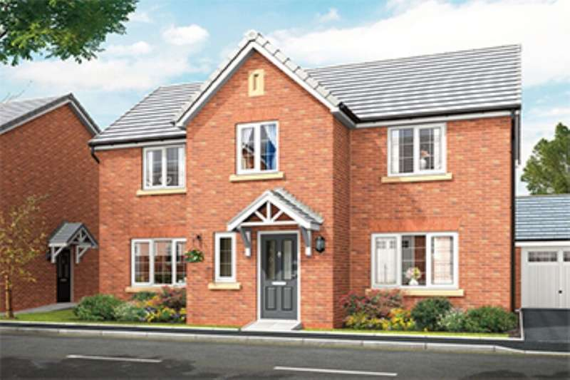 4 Bedrooms Detached House for sale in The Haversham Side, Squirrels Chase Off Chestnut Avenue, Shavington, Crewe, CW2
