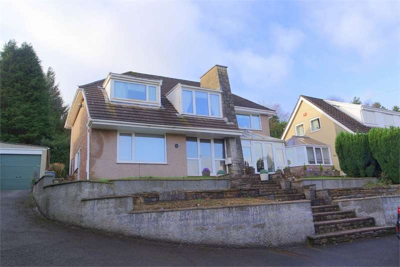 4 Bedrooms Detached House for sale in Pen Yr Ysgol, Maesteg, Mid Glamorgan