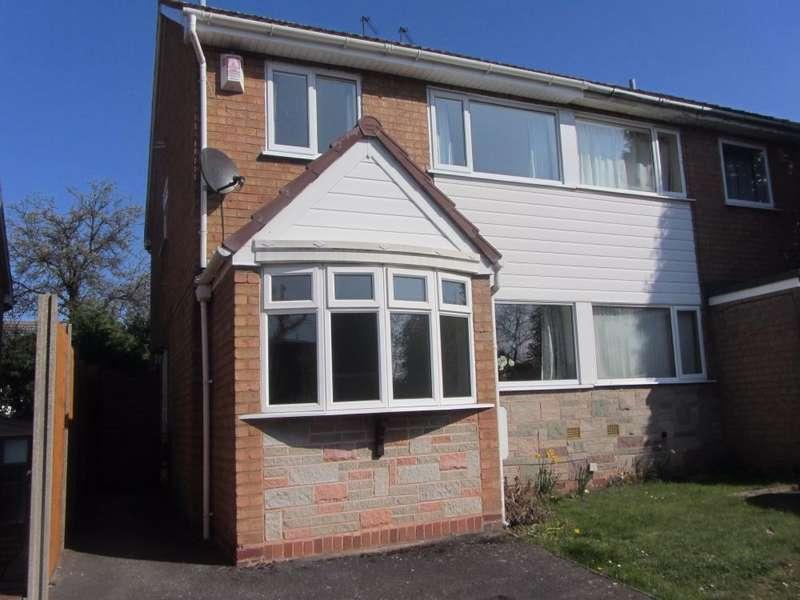 3 Bedrooms Semi Detached House for rent in Eton Walk, Hagley, Stourbridge, DY9