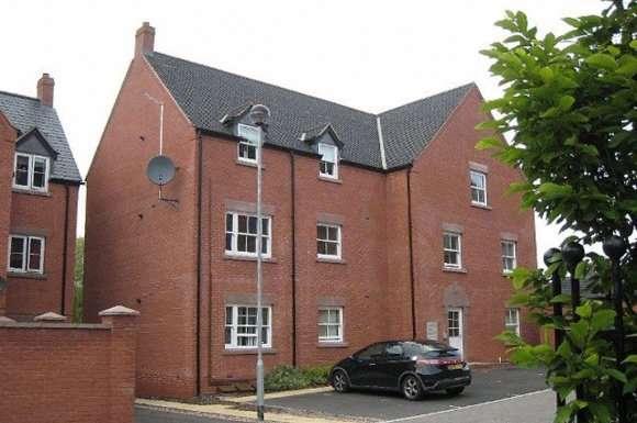 2 Bedrooms Flat for rent in Riverside Crescent, High Street, Tean, Stoke On Trent