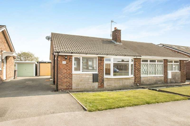 2 Bedrooms Semi Detached Bungalow for sale in Wharfedale Rise, Tingley, Wakefield, West Yorkshire, WF3