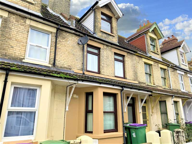 4 Bedrooms Terraced House for sale in Thanet Gardens, Folkestone, Kent, CT19 6DF