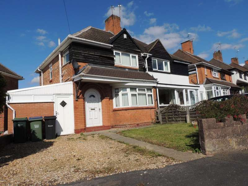 3 Bedrooms Semi Detached House for rent in Shrublands Avenue, Quinton, Birmingham, West Midlands, B68 0PP
