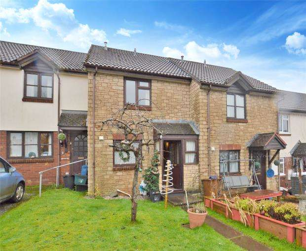 2 Bedrooms Terraced House for sale in St Martins Close, Bow, Crediton, Devon