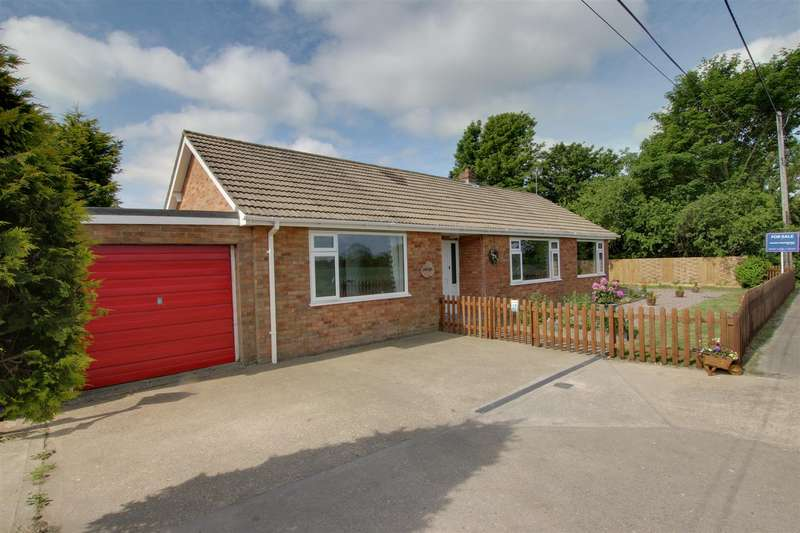 3 Bedrooms Detached Bungalow for sale in Sutton Road, Markby, Alford