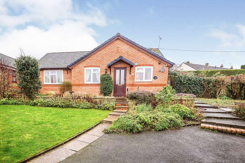 2 Bedrooms Detached Bungalow for sale in Heather Bank, Gobowen, Oswestry, Shropshire, SY11