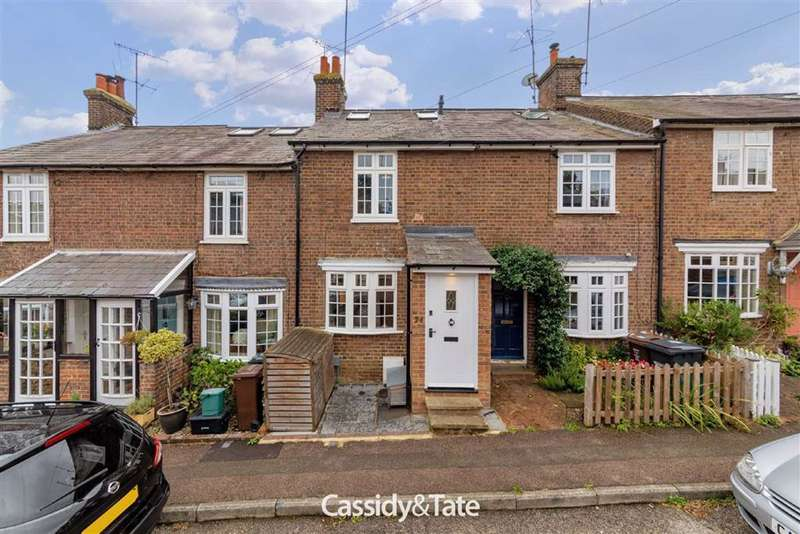 3 Bedrooms Terraced House for sale in Necton Road, Wheathampstead, Hertfordshire