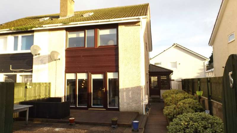 3 Bedrooms Semi Detached House for rent in Shiel Square, Nairn
