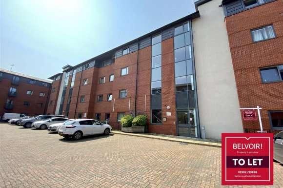 2 Bedrooms Apartment Flat for rent in Broad Gauge Way, Wolverhampton