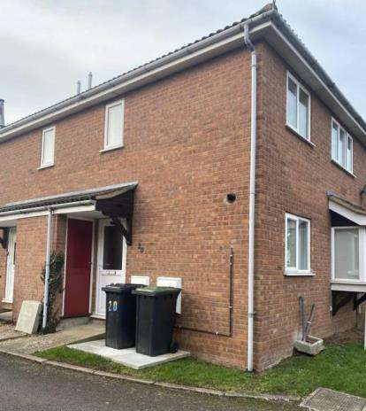2 Bedrooms Terraced House for sale in Heron Close, Biggleswade, Bedfordshire