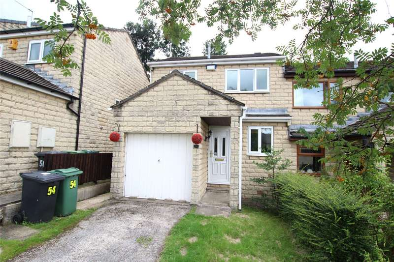 3 Bedrooms Semi Detached House for rent in Longlands Bank, Thongsbridge, Holmfirth, HD9