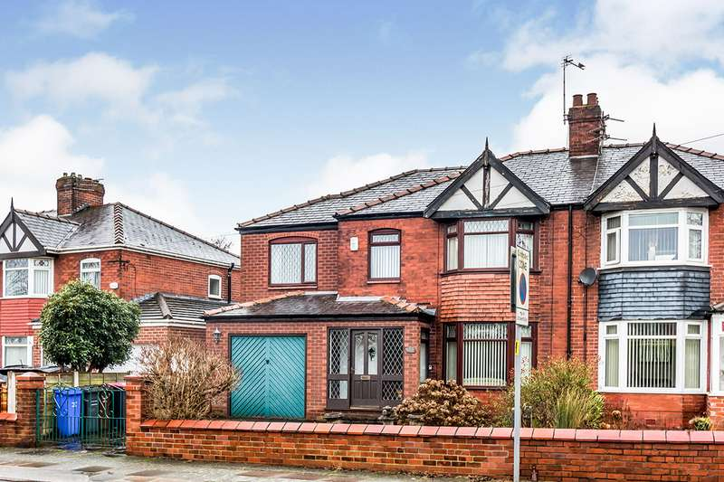 5 Bedrooms Semi Detached House for sale in Victoria Road, Salford, Greater Manchester, M6