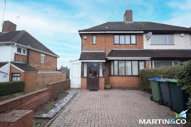 3 Bedrooms Semi Detached House for rent in Kenilworth Road, Oldbury, B68