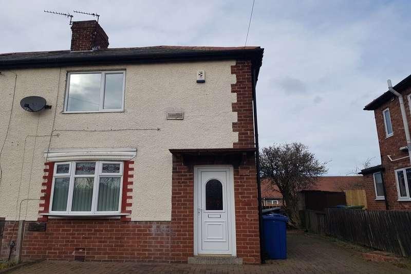2 Bedrooms Semi Detached House for rent in Hadrian Road, Jarrow, NE32