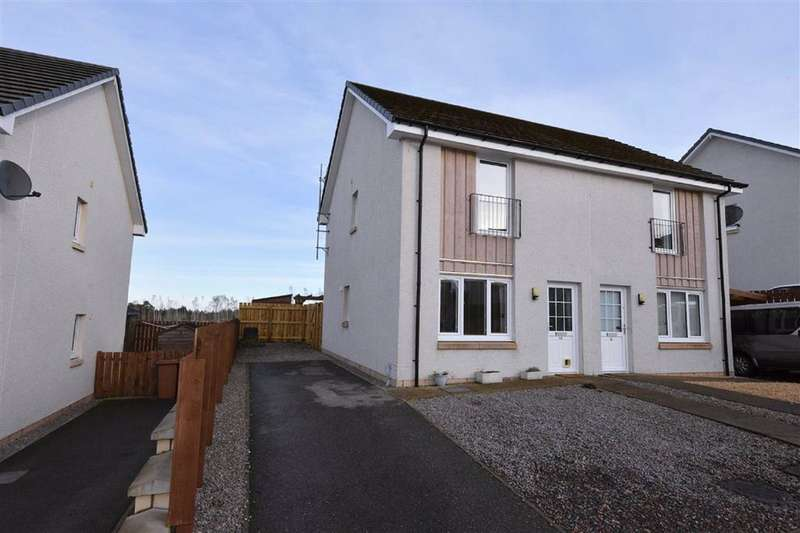2 Bedrooms Semi Detached House for sale in Inverness & Area