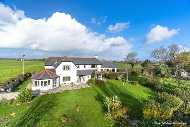 5 Bedrooms Detached House for sale in Llancarfan, Vale of Glamorgan, CF62 3AX