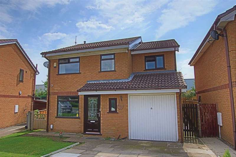 4 Bedrooms Detached House for rent in Pochard Drive, Broadheath, Altrincham