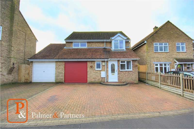 4 Bedrooms Detached House for sale in Browns Close, Acton, Sudbury