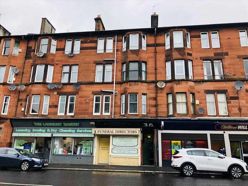 1 Bedroom Flat for rent in Broomlands Street, Paisley, Paisley