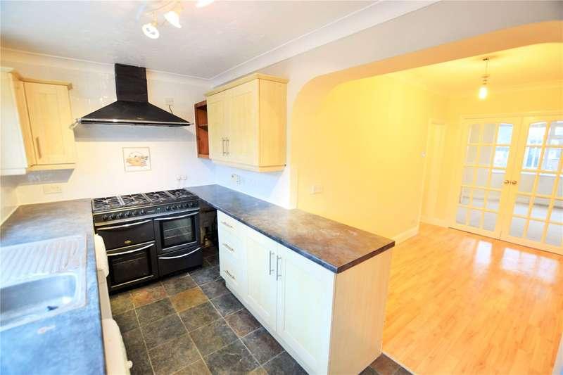 3 Bedrooms Semi Detached House for rent in Sinhurst Road, Camberley, Surrey, GU15