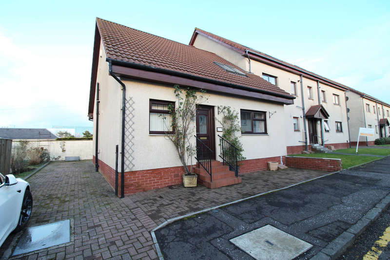 3 Bedrooms End Of Terrace House for sale in Maryfield Place, Ayr, KA8