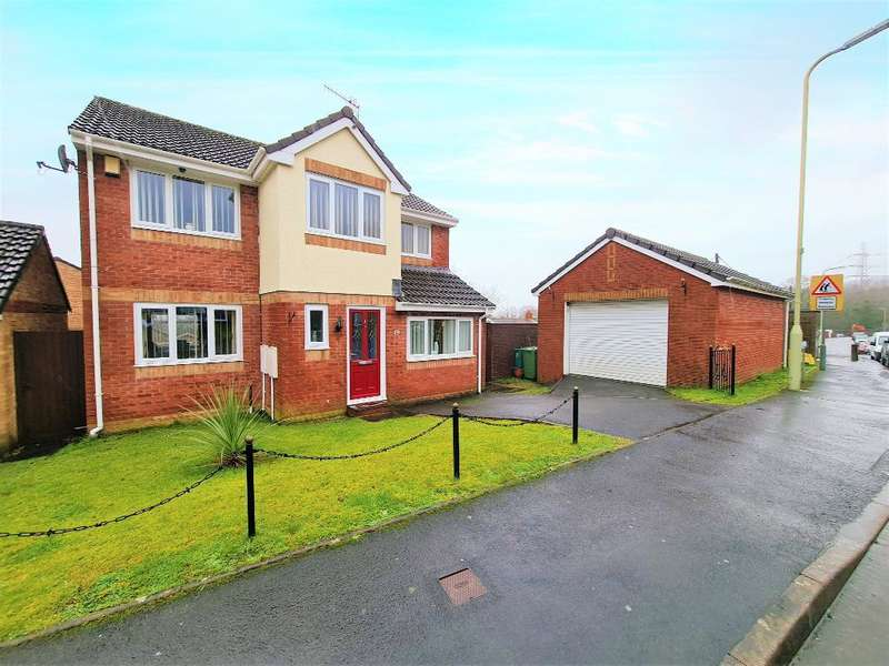 4 Bedrooms Detached House for sale in Greenways, Abernant, Aberdare, RCT, CF44 0GW