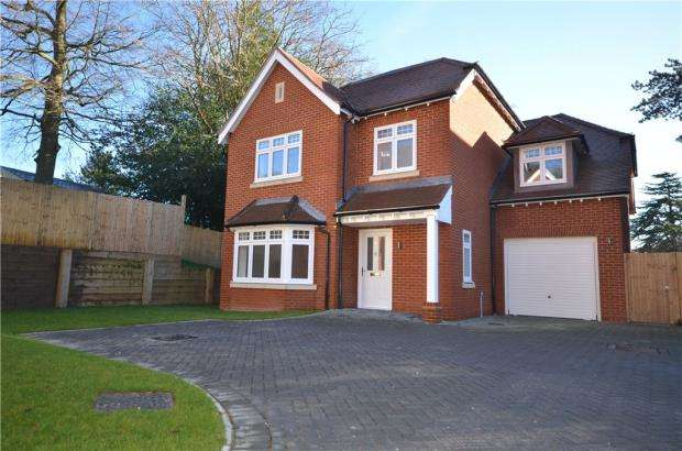 4 Bedrooms Detached House for sale in Windrush Heights, Little Sandhurst, Berkshire