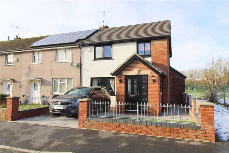 3 Bedrooms Semi Detached House for sale in Ynyscorrwg Road, Pontypridd