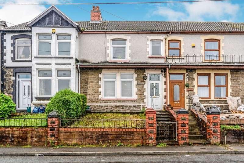 3 Bedrooms Terraced House for sale in Southend Terrace, Pontlottyn, Bargoed