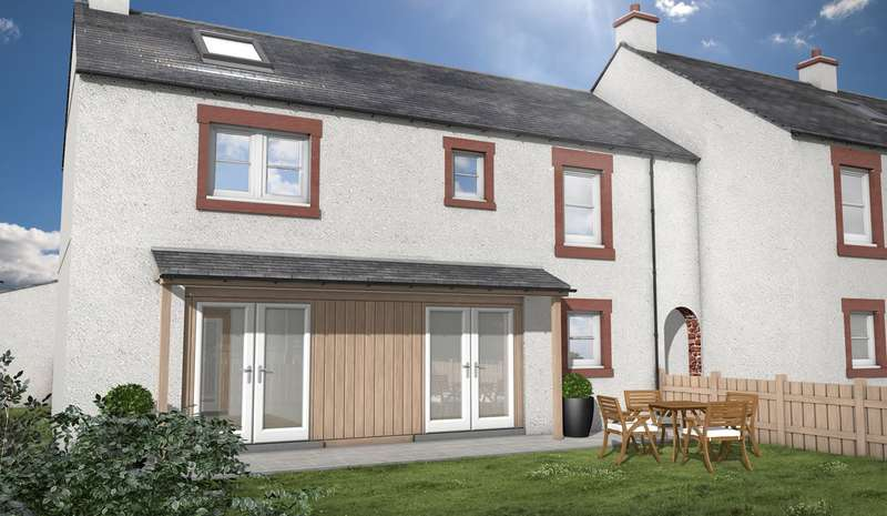 3 Bedrooms End Of Terrace House for sale in The Old Sawmill, Warcop, Appleby-in-Westmorland, CA16