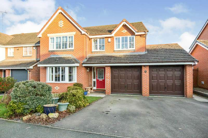 4 Bedrooms Detached House for sale in Woburn Drive, Congleton, Cheshire, CW12