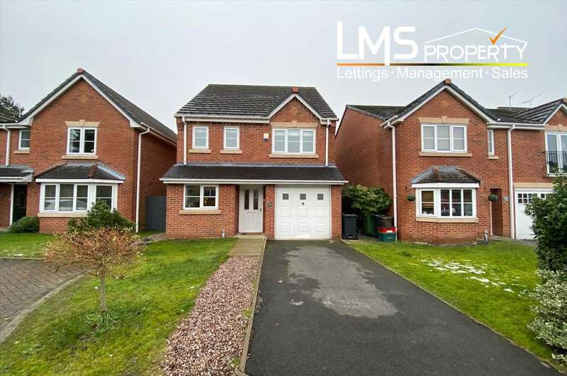 4 Bedrooms Detached House for sale in Portland Drive, Winsford