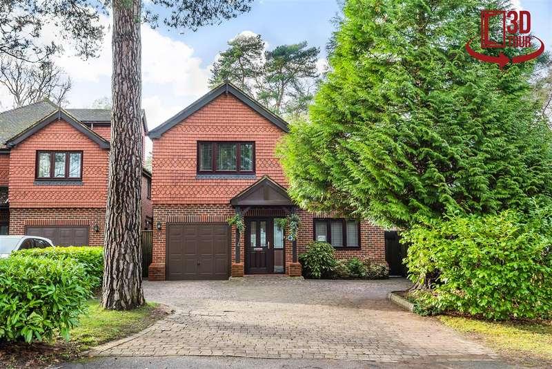 5 Bedrooms Detached House for sale in New Wokingham Road, Crowthorne, Berkshire, RG45 6JN