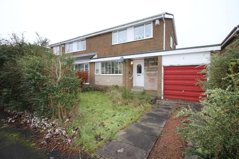 3 Bedrooms Semi Detached House for sale in Lime Grove, Prudhoe, Northumberland, NE42
