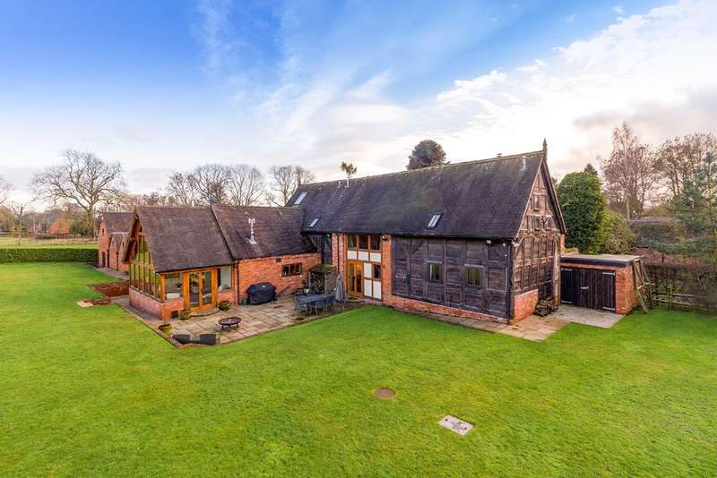 7 Bedrooms Detached House for sale in Horsebrook Farm Lane, Brewood, Stafford