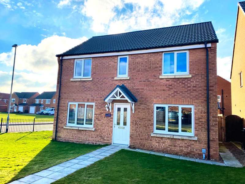 4 Bedrooms Detached House for sale in Ferrous Way, North Hykeham, Lincoln, LN6
